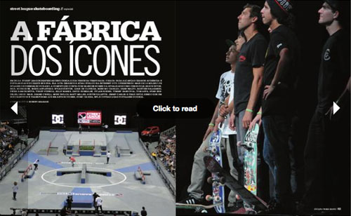 Fotos e textos da Street League em Kansas City, 2012, para revista Tribo