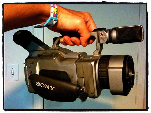 VX 1000 usada para filmar Paul Rodriguez e Torey Pudwill
