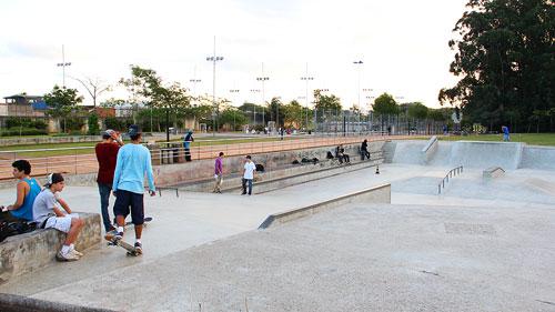 Pista do Carandiru se chamará Chorão Skatepark (foto: Sidney Arakaki)