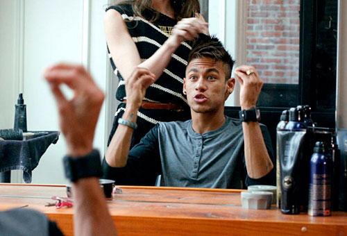 """""""Ele tinha um cachorro louco!"""" - Neymar (foto: Divulgação)"""