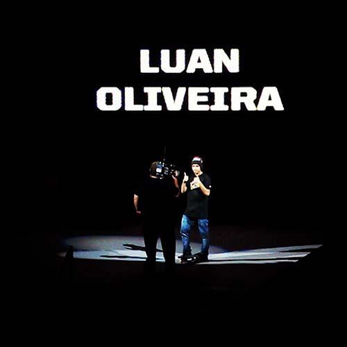 Luan é o único brasileiro da 1ª divisão da Street League (foto: Sidney Arakaki)