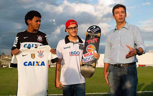 Rony Gomes conta como é ser skatista do Sport Club Corinthians Paulista (Divulgação)