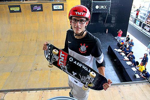 Rony Gomes conta como é ser skatista do Corinthians (Divulgação)