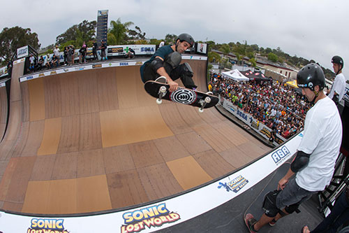 Marcelo Bastos, frontside air (foto: Mpu Dinani/A-Game Photography)