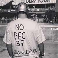 Pedro Barros chamando atenção para anulação da PEC 37 (Instagram)