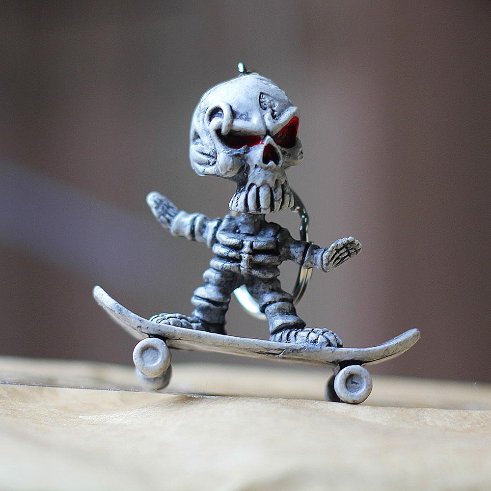 Skatistas de alma andam de skate após a morte! (foto: Sidney Arakaki)