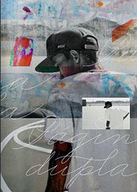 """Capa do projeto """"Página Dupla"""", do Flavio Samelo e Tinho Nomura. Tinho reproduziu uma foto de Rodrigo produzida pelo Samelo"""