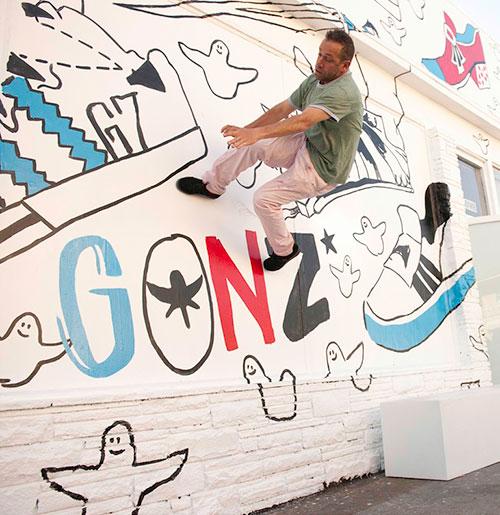 adidas Skateboarding e Mark Gonzales. A parceria completa 15 anos (Divulgação)