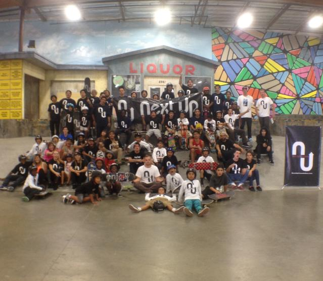 Next Up Foundation visita The Berrics (Divulgação)