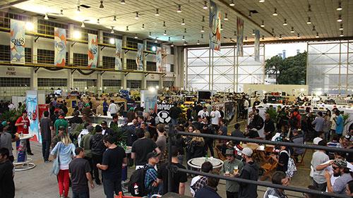 Urb Tradeshow, no Campo de Marte (foto: Sidney Arakaki)