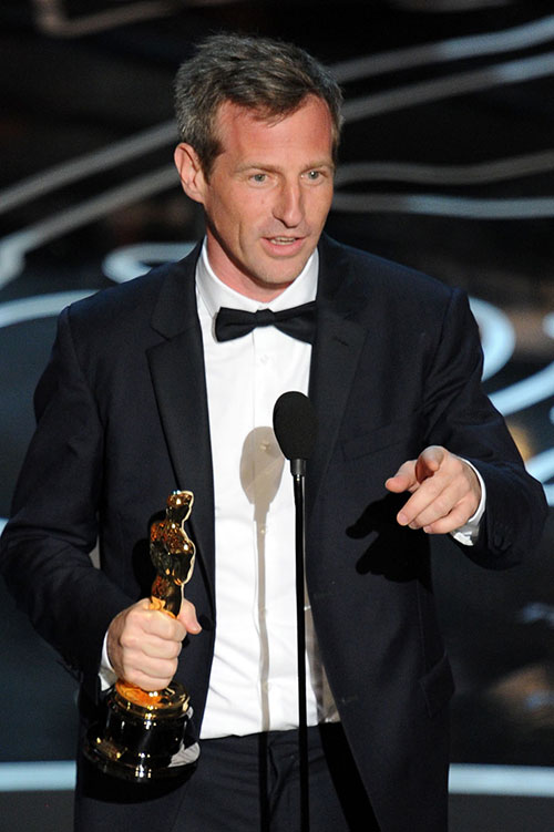 Spike Jonze e seu primeiro Oscar (Getty Images)