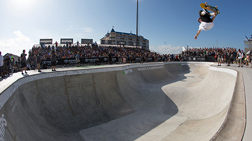 Dew Tour está confirmado para 2014. Pedro Barros é uma das atrações da competição (Divulgação)