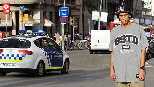 Djorge Oliveira em Barcelona (foto: Gui Galve)