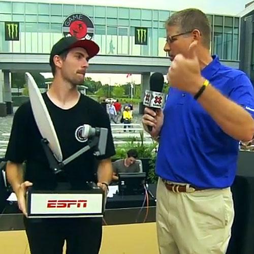 Mike Mo, vencedor do primeiro Game of SKATE da ESPN (Reprodução)