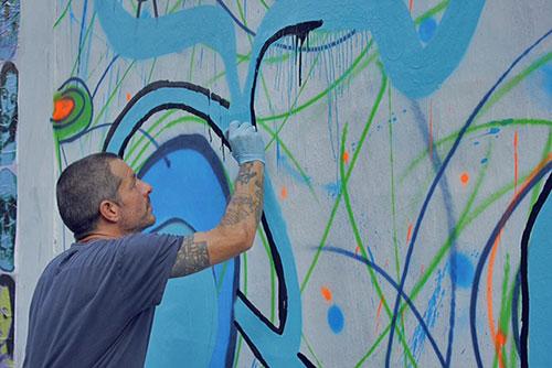 Moblow no Wallride, em São Paulo (Divulgação/Mudroi)