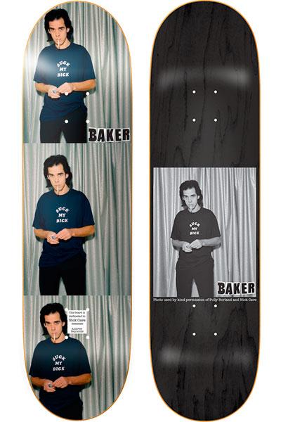 Andrew Reynolds já homenageou Nick Cave com a Baker (Divulgação)