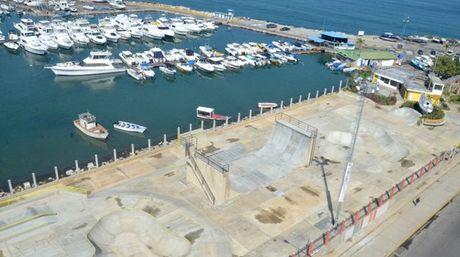A pista de skate de Puerto Cabello (Divulgação)
