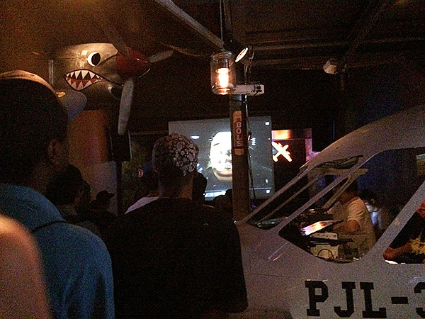 A première do Gold Goons em São Paulo aconteceu no Pub Jetlag (foto: Sidney Arakaki)