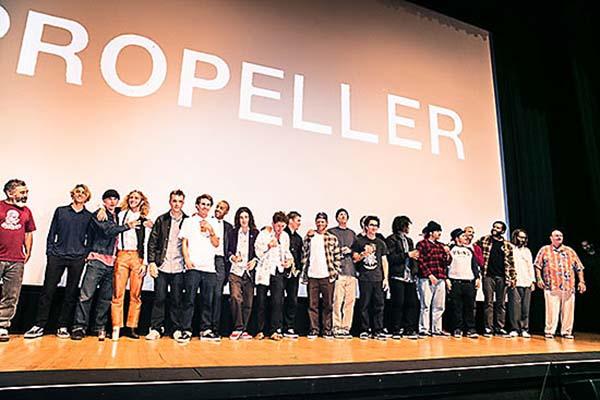 """Primeiro vídeo de skate da Vans, """"Propeller"""", foi exibido em Los Angeles (Divulgação)"""