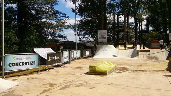 Pista do Parque Pignatari, em Santo André, SP (Divulgação)