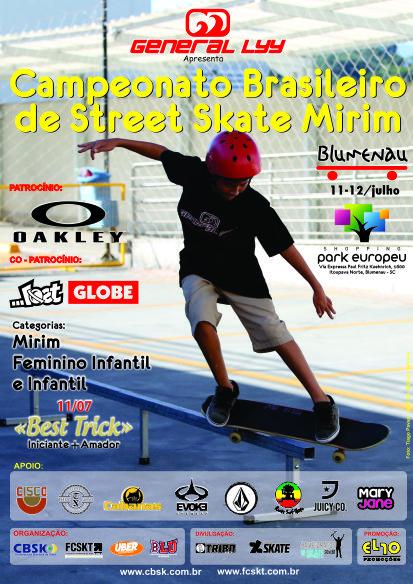 CARTAZ BRASILEIRO STREET MIRIM 2015
