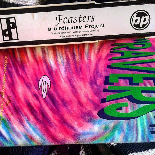 Vídeos VHS Birdhouse Project. Feasters e Ravers