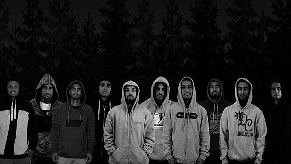 Hood apresenta seu time de skatistas profissionais (Divulgação)
