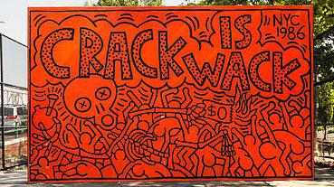 Crack Is Wack, de Keith Haring (Prefeitura NY)