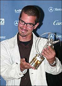 Bob Burnquist ganhou o Laureus em 2002. (Divulgação)