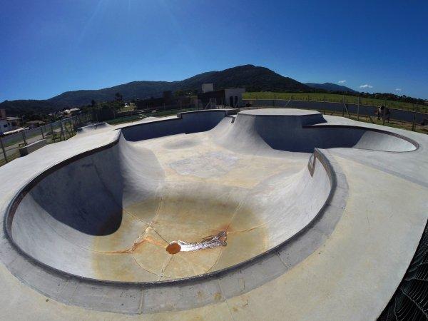 Kasting Arruda Skate Park, local onde acontecerá a etapa brasileira do Vans Pro Skate Park Series. (Divulgação)