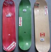 Marfim, Birch e Maple. Informações sobre algumas variedades de shapes/decks