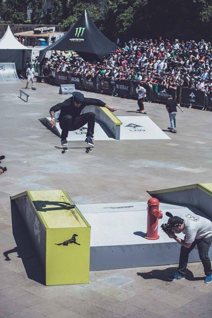 Frontside Flip de Luan Oliveira no Matriz Skate Pro 2014 (Divulgação/Alex Brandão)
