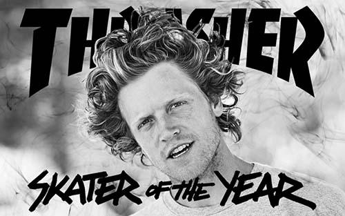 Wes Kremer, o Skatista do Ano 2014 pela Thrasher (Divulgação)