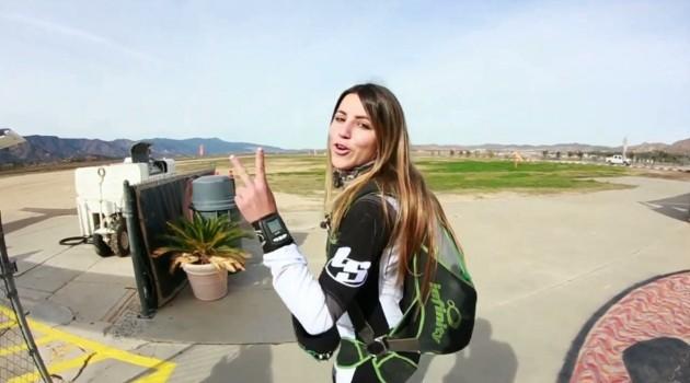 Leticia Bufoni Skatelife fazendo skydive e visitando Fabrizio Santos