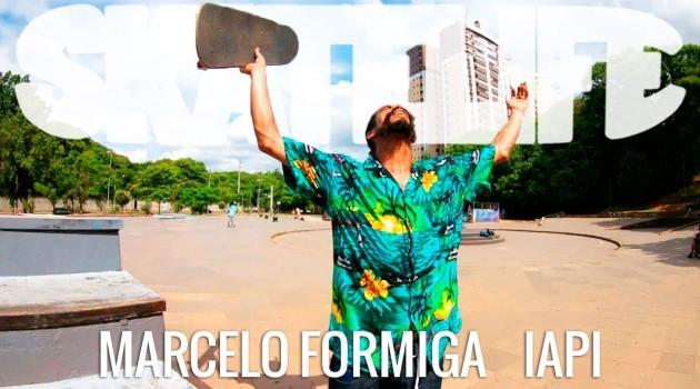 Canal Skatelife acompanha Marcelo Formiga em sessão no IAPI