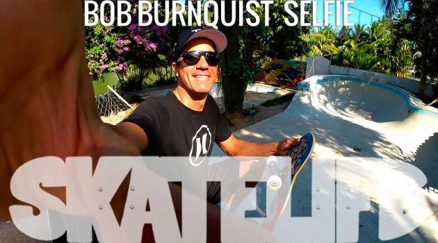 Bob Burnquist faz Selfie para Canal Skatelife