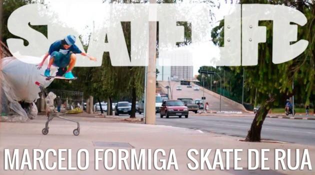 Marcelo Formiga e o Skate de Rua