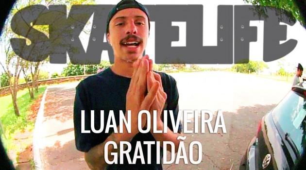 Luan Oliveira encerra viagem para Brasília com episódio Gratidão