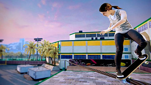 "Leticia Bufoni no ""Tony Hawk Pro Skater 5"""