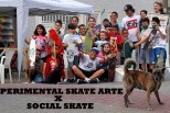 Experimental Skate Arte na ONG Social Skate