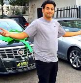 Paul Rodriguez presenteia amigos Atiba e Scuba com Cadillacs