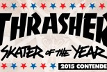 Brasileiros indicados ao Skatista do Ano da Thrasher