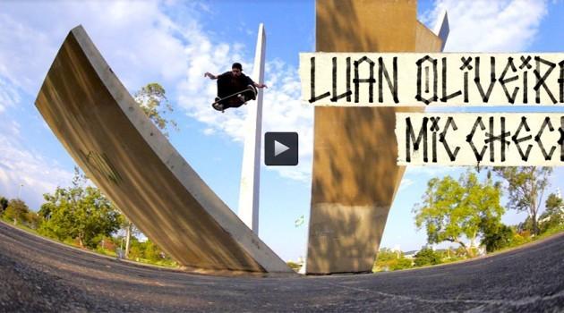 Luan Oliveira e Thrasher Magazine lançam vídeo novo