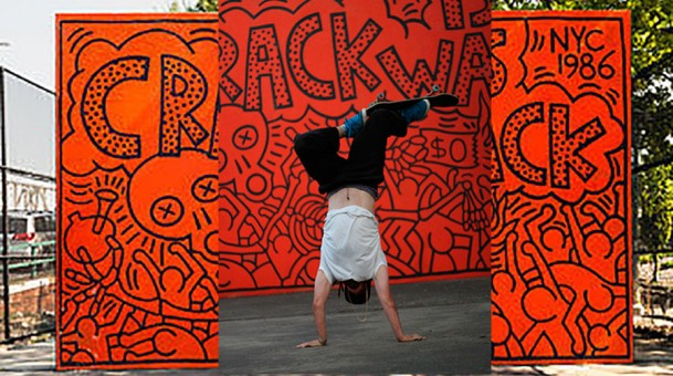 Quim Cardona x Keith Haring – Crack Is Wack