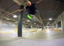 Luan Oliveira na pista de skate da Nike SB