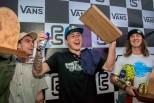 Russell ganha e Pedro fica em segundo no Vans Park Series