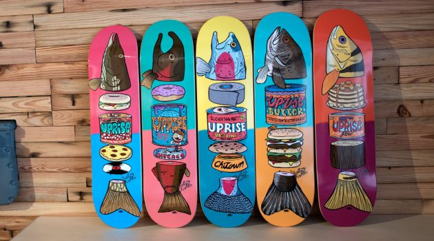 "Felipe Motta x Uprise Skateboards: ""To All My Fishes"""