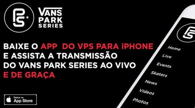 Aplicativo do Vans Park Series