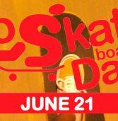 Go Skateboarding Day/Dia Internacional do Skate cai numa quarta-feira em 2017