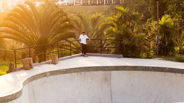 A pista de skate do Murilo Peres